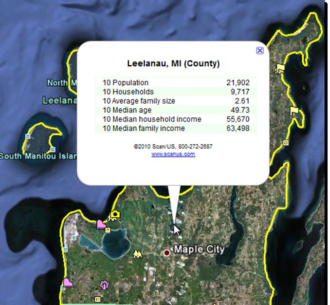 ScanUS Help Google Export - Us map google earth