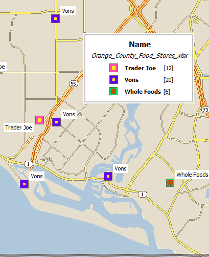Stores classified by chain